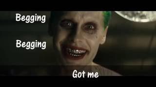 Suicide Squad Lyric Video Sucker for Pain