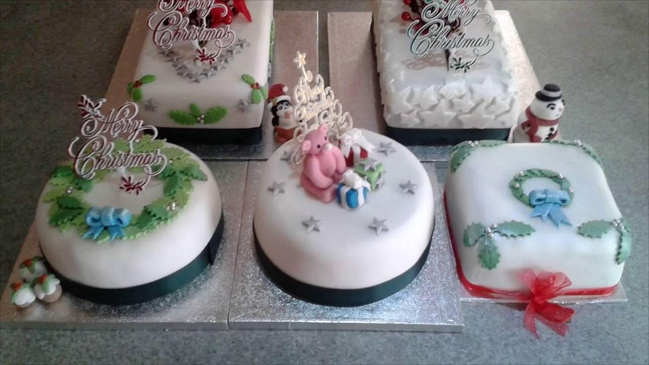 Novelty Christmas Cakes Decorating Ideas Part - 44: Novelty Christmas Cakes - YouTube