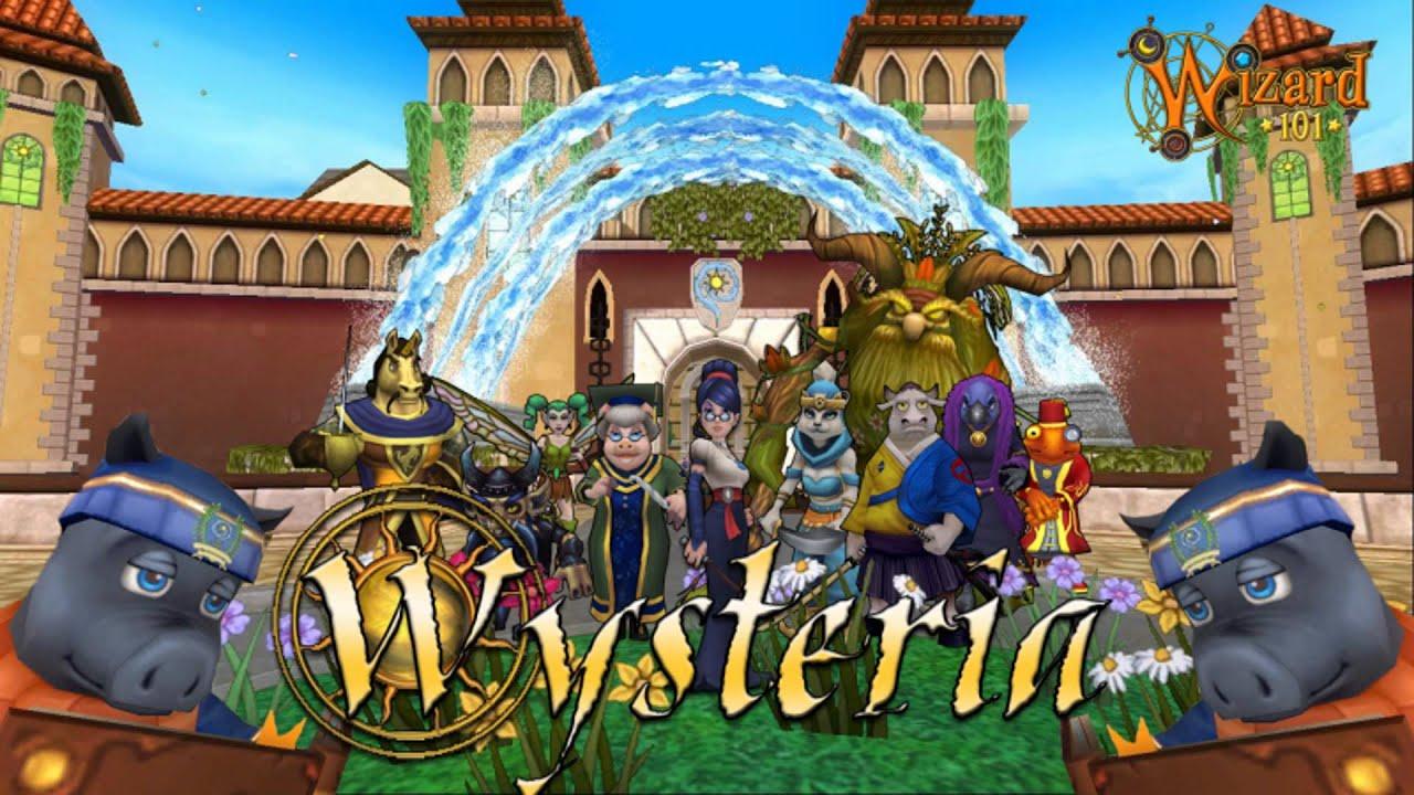 Wizard101 wysteria main theme youtube - Wizard101 pics ...