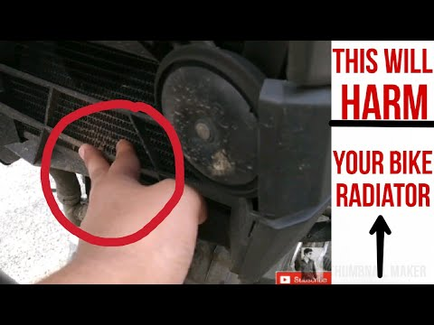 This will Definitely Harm Your Bike radiator.ft.Pulsar 200NS | Hindi |