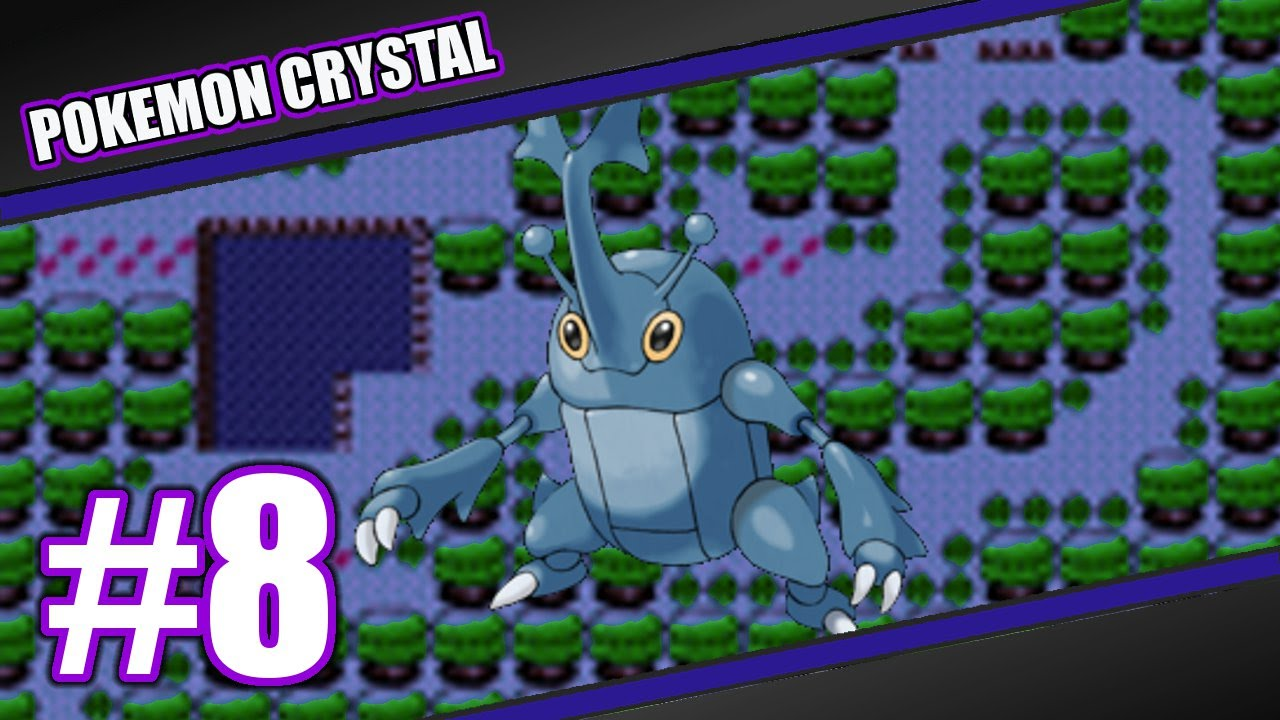 Pokemon Crystal Version Ep #8: Headbutting for Heracross