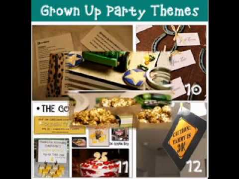 Great Birthday Party Ideas For Men