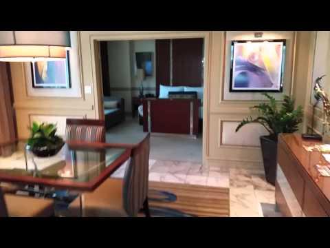 Mirage penthouse suite
