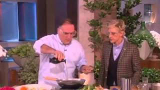 José Andrés Gets Cooking! on Ellen show