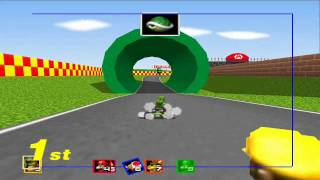 Mario Kart 64 - Flower Cup 150cc with Yoshi