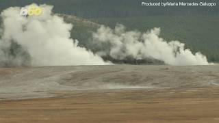 Yellowstone Geyser Spews Decades Worth of Trash, Including Objects from the