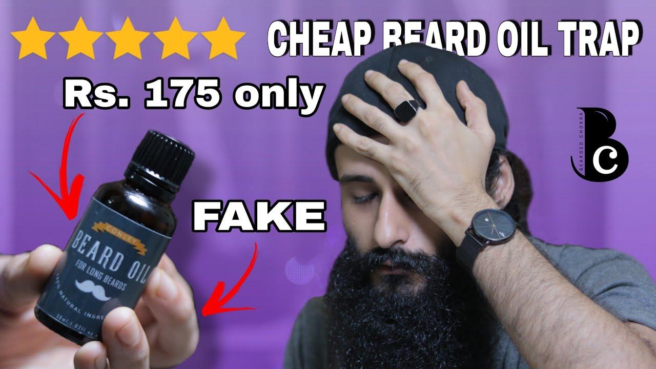 Don't Fall For This Cheap Beard Oil Trap   Bearded Chokra