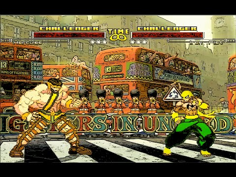 Mugen : Marvel : Hercules Vs Iron Fist