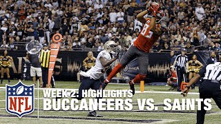 Buccaneers vs. Saints | Week 2 Highlights | NFL
