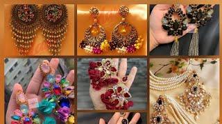 Eid special earrings 2020 # Top designs earrings # ঈদের জন্য নতুন কালেকশন কানের দুল।