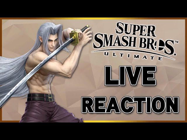 SEPHIROTH IS COMING TO SMASH!? - Live Reaction /w Friends!