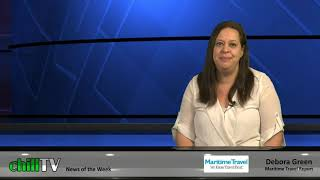 chillTV's MARITIME TRAVEL REPORT, with Debora Green:  February 2020