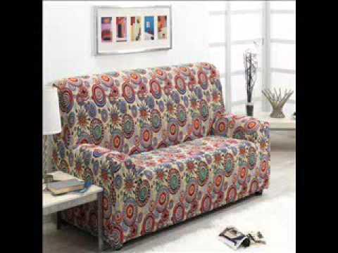 Fundas de sof el sticas estampadas youtube - Fundas elasticas para sofa ...