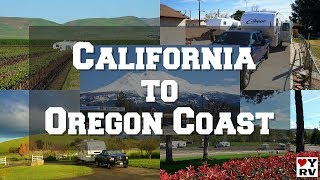 California Desert to the Oregon Coast (Snowbird Trip Update)