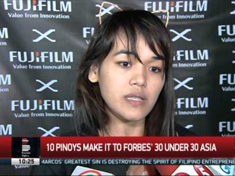 10 Pinoys in Forbes' '30 Under-30 Asia'