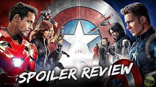 Captain America: Civil War - SPOILER REVIEW