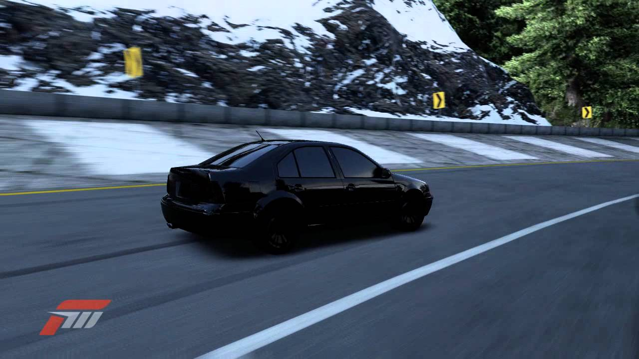 Forza Motorsport 4 Glitch The Black Vw Bora Null Car