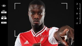 Nicolas Pepe | Exclusive interview on his family, heroes and his time as a goalkeeper