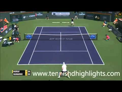 Andy Murray vs Adrian Mannarino Highlights.Indian