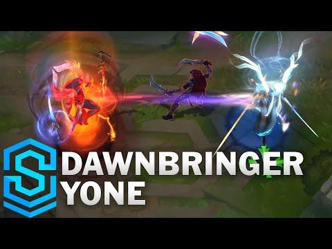 Download Dawnbringer Yone Skin Spotlight - Pre-Release - League of Legends
