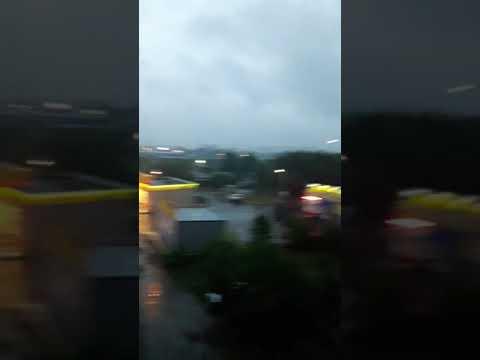 Ужасная погода в Кузнецке!!!