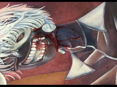 Watercolor Tokyo Ghoul Kaneki 東京喰種カネキ水彩イラストメイキング