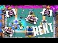 המשחק הכי הזוי בקלאש רויאל - שבירה מטורפת בארנה 9 !!