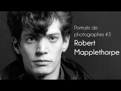 Portraits de Photographes #3 Robert Mapplethorpe