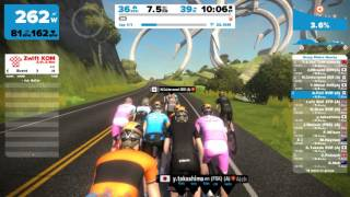 Zwift - EVR Race - A   マシュー・ヘイマン 2016/12/26 20:00 JST