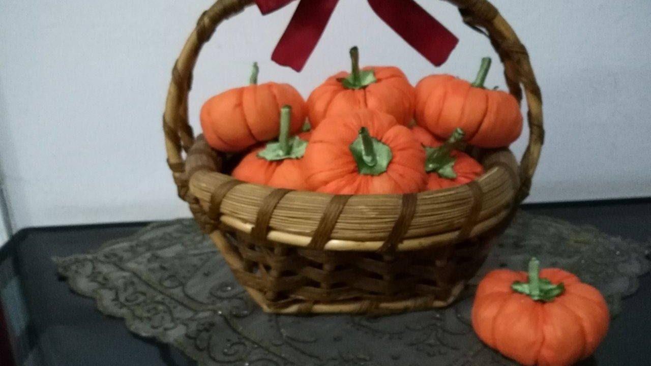 crafts fabric diy handmade decor pumpkin tutorial