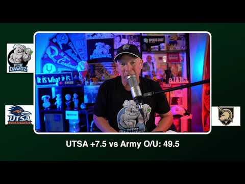 Army vs UTSA Free College Football Picks and Predictions CFB Tips Saturday 10/17/20