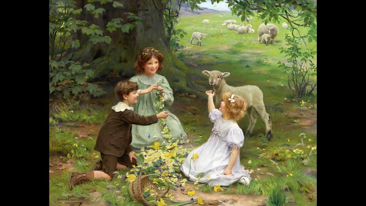 фото дети художники