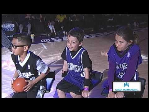 Kaiser Permanente Kid Dunk Contest