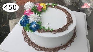 chocolate cake decorating bettercreme vanilla (450) Học Làm Bánh Kem Đơn Giản Đẹp - Âu (450)