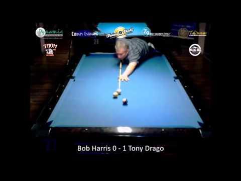 Tony Drago vs Bob Harris Total 9 Ball Scratch Series 2016 Event 1