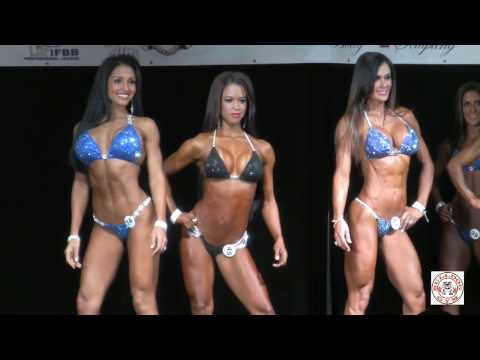 IFBB Pro Bikini All Callouts Miami Muscle Beach 2015