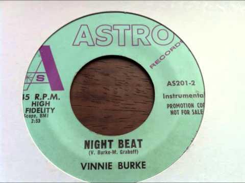 vinnie burke  -- night beat  - astro records