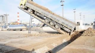 YILMAZ KARDEŞ DAMPER SAN. A.Ş.yük boşaltma platformu unloading platform dumper.AVI