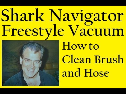 Shark Navigator Freestyle Vacuum How To The Clean Brush