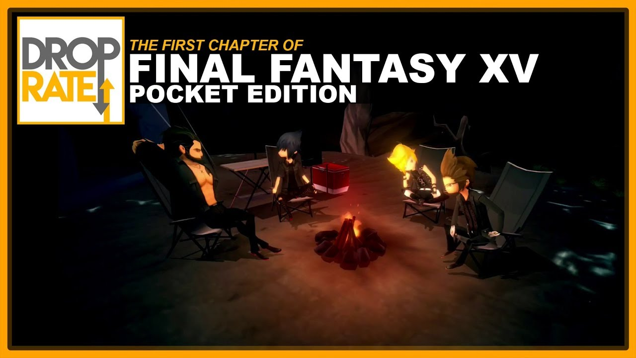 Final Fantasy XV : Pocket Edition Gameplay -- The First ...