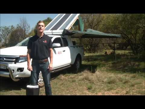 Flexopower camping solar panel kits
