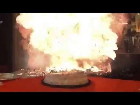 Birthday Cake Explode