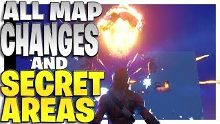 Every Single Map Change And Secret Location For Season 4 In Fortnite Battle Royale