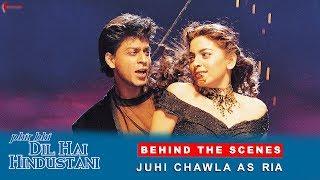 Phir Bhi Dil Hai Hindustani   Behind The Scenes   Juhi Chawla As Ria   Shah Rukh Khan