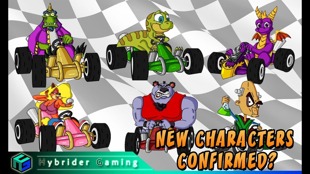 NEW CHARACTERS CONFIRMED? | Crash Team Racing Nitro-Fueled