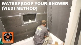 How to Waterproof a Shower Using Wedi (Step-by-Step)