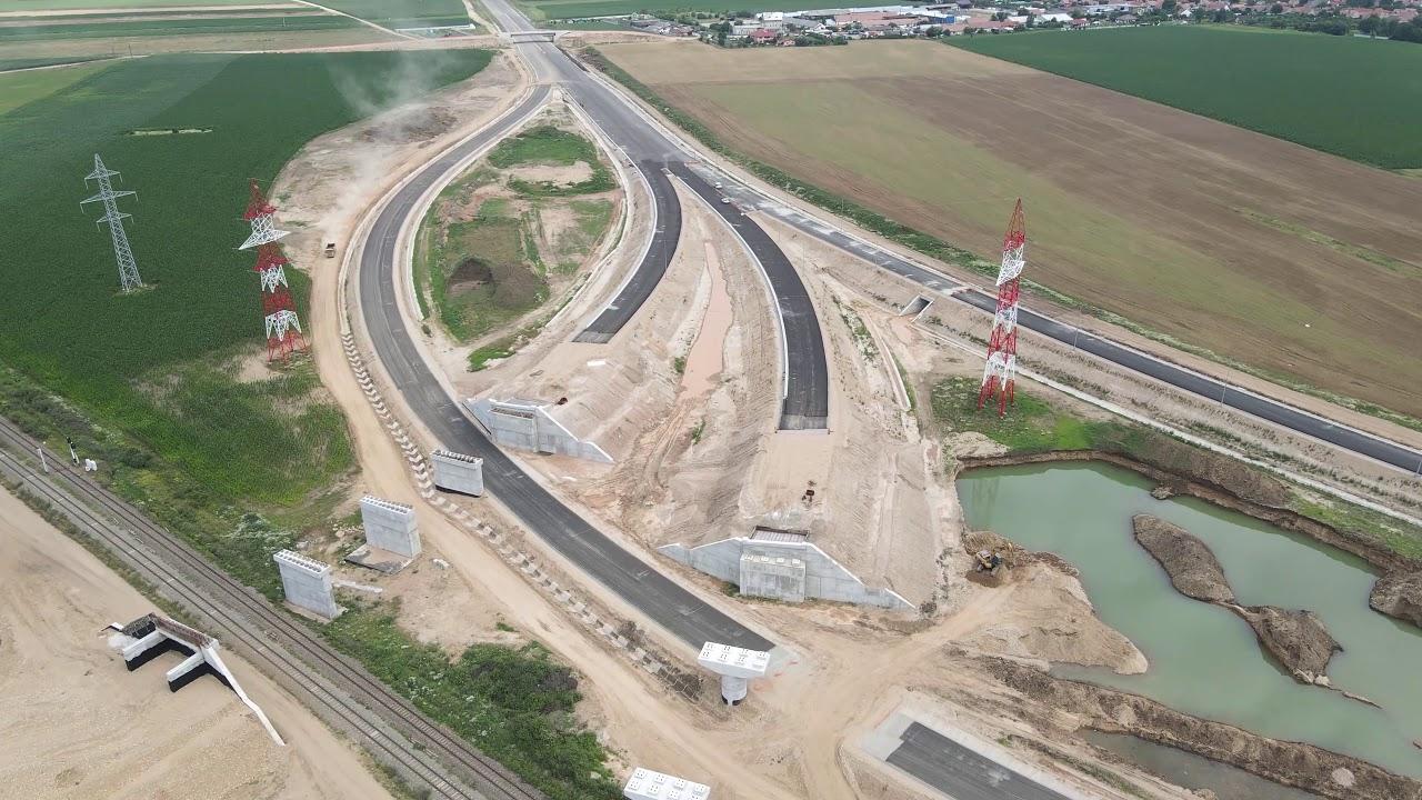 Autostrada A10 Sebes Turda, lotul 1, nodul rutier Sebes, 030720