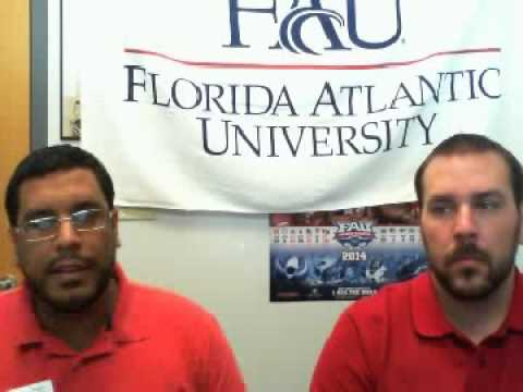 Florida Atlantic University Admissions Video Chat