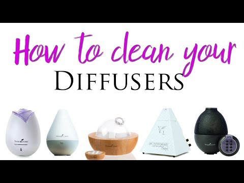 How to Clean your Diffuser- Young Living Essential Oils