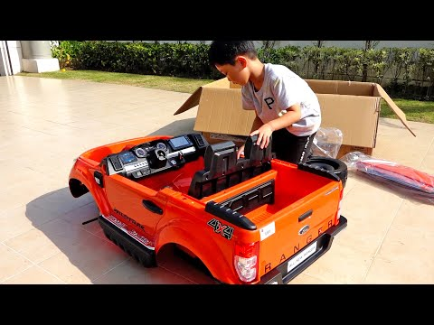 Power Wheels Car Toy Assembly Toys Playground Activity